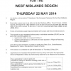 European and SDC Alcester & Kinwarton District Elections